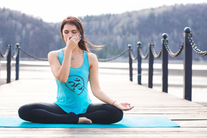 How to Think Positive by Right Breathing